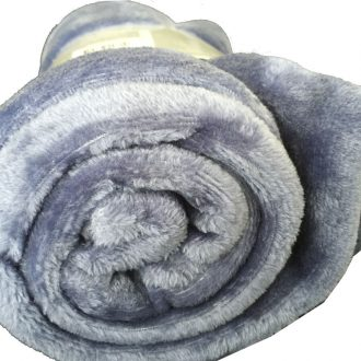 Ultra-Soft Throw Rug (Indigo Color) 1