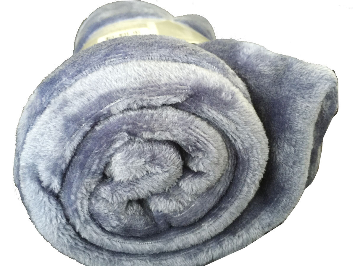 Ultra-Soft Throw Rug (Indigo Color)