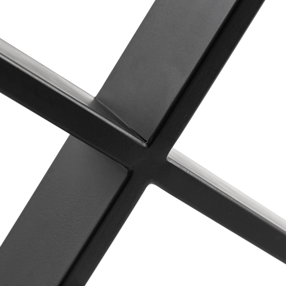 X Shaped Table Bench Desk Legs Retro Industrial Design Fully Welded 4