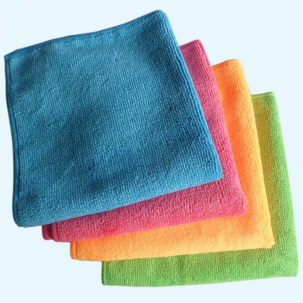 18x Microfibre Cleaning Cloth Microfiber Dish Car Gym Towel Glass 210GSM 40x30cm 2