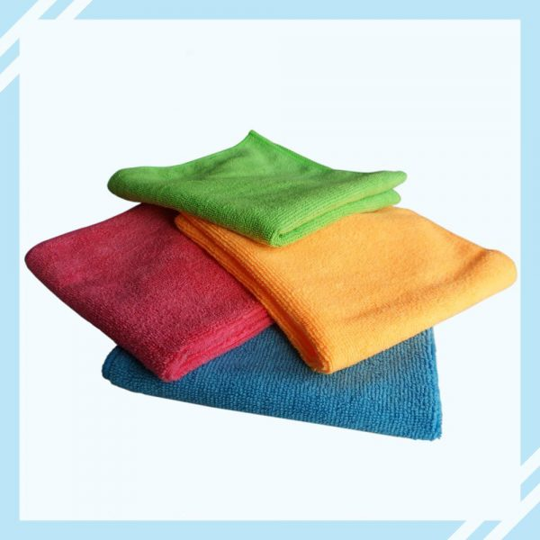 18x Microfibre Cleaning Cloth Microfiber Dish Car Gym Towel Glass 210GSM 40x30cm 4
