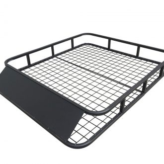 Universal Roof Rack Basket – Car Luggage Carrier Steel Cage Vehicle Cargo 1