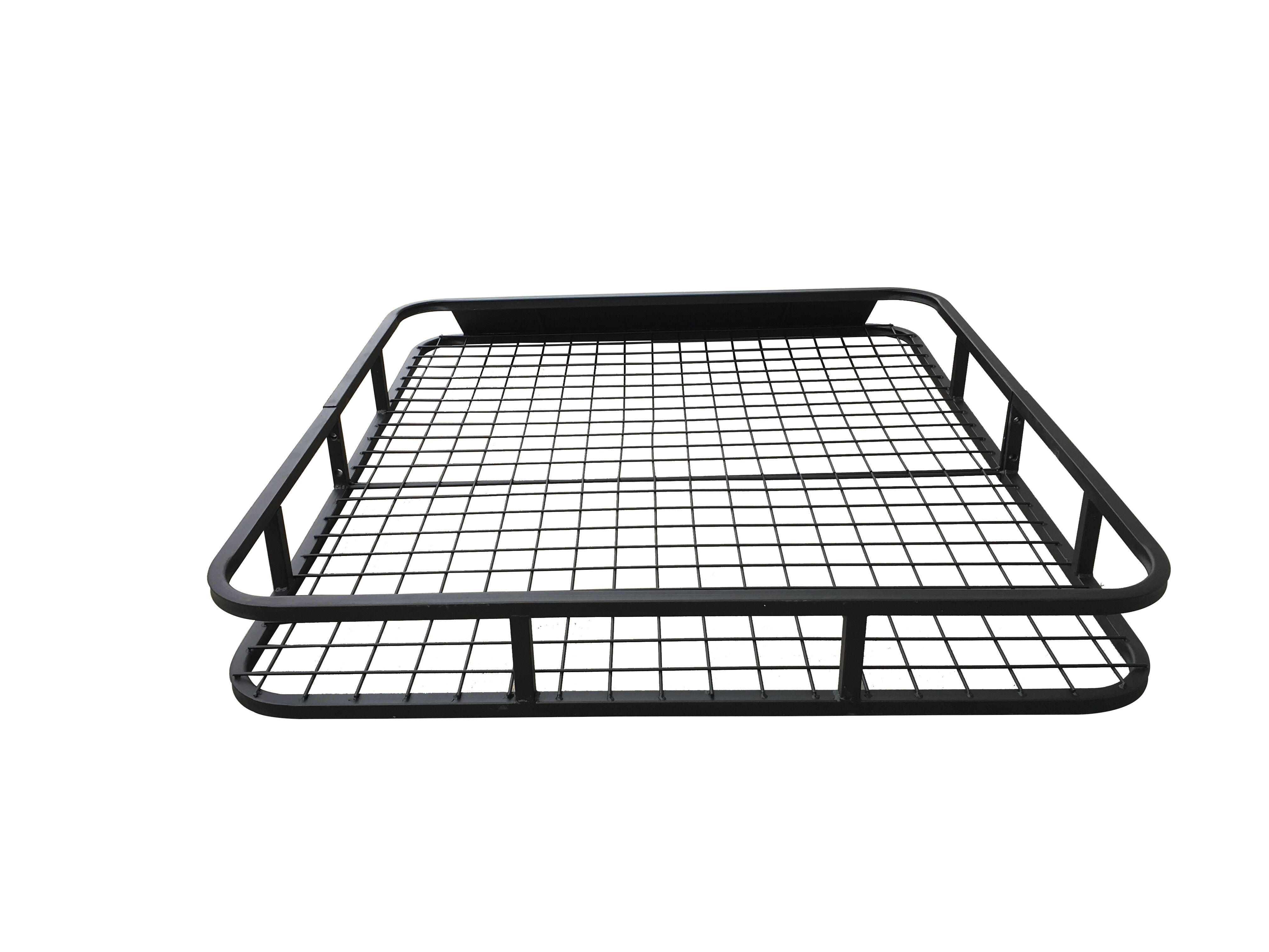 Universal Roof Rack Basket – Car Luggage Carrier Steel Cage Vehicle Cargo 2