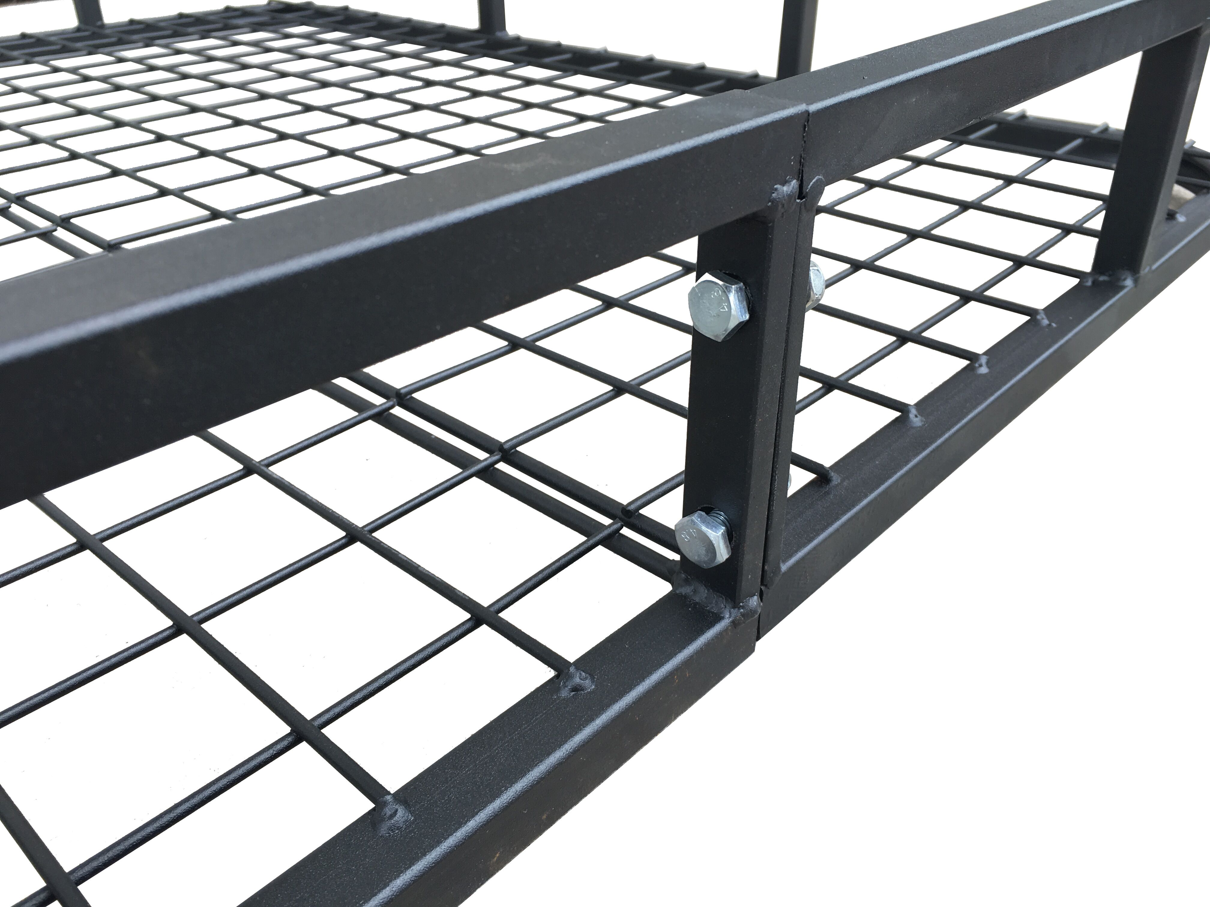 Universal Roof Rack Basket – Car Luggage Carrier Steel Cage Vehicle Cargo 4