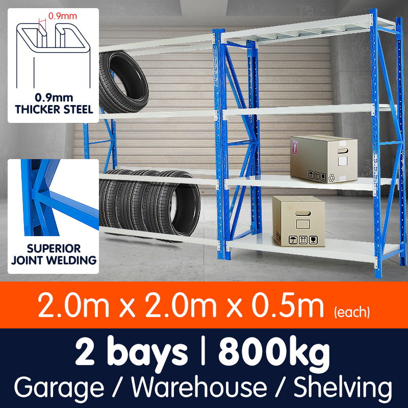 Garage Storage Steel Rack Shelving 2