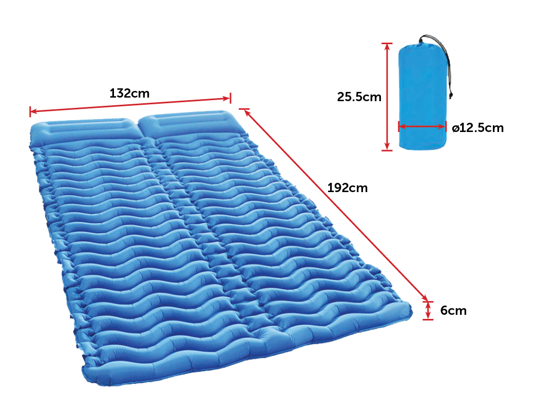 Double Two-person Camping Sleeping Pad 4