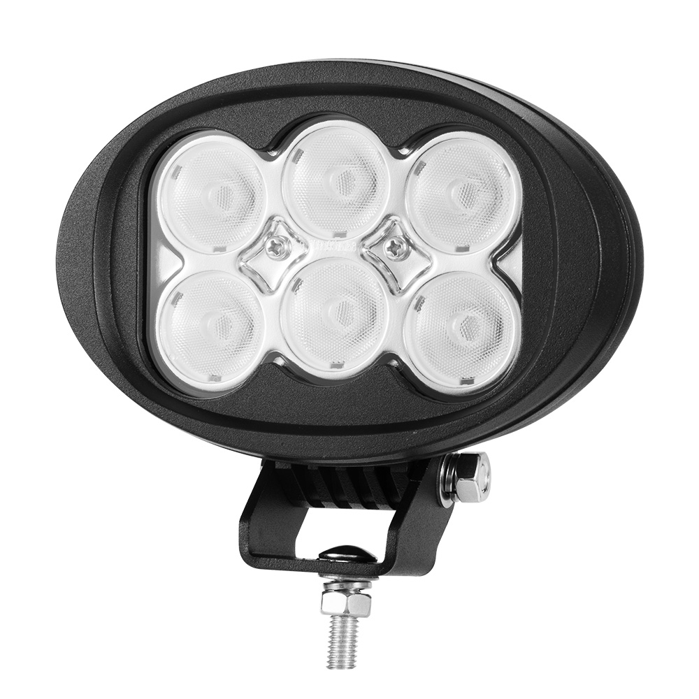 6inch 60W CREE LED Work Light Flood Beam 4WD Tractor Boat Super Bright Round 1