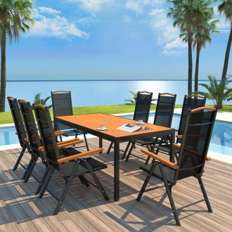 9x Outdoor Dining Set